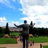 Mandela at Union Buildings Pretoria