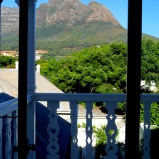 Table Mountain seen from Banksia Boutique Hotel